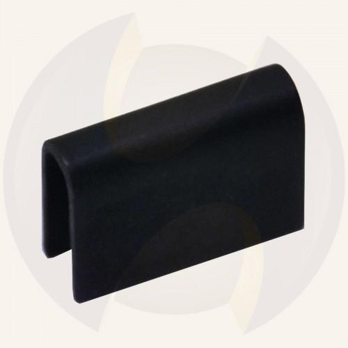 Steel wear plate U-shape for MC motor Ø128mm